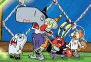 SpongeBob-Halloween-characters