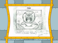Spongicus storyboard panels-4