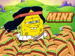 The Legend of SpongeBob Title Card