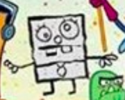Doodlebob from Every character poster