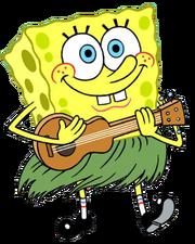 SpongeBob hula stock