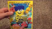 The SpongeBob Movie Sponge Out of Water 3D Blu-ray Unboxing