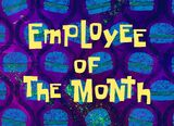 Employee of the Month title card