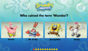 How well do you know SpongeBob SquarePants? - Question 1