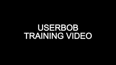 UserBob Training Video