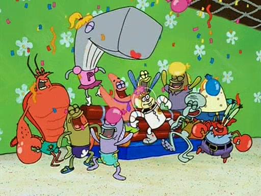 Spongebob party pooper pants