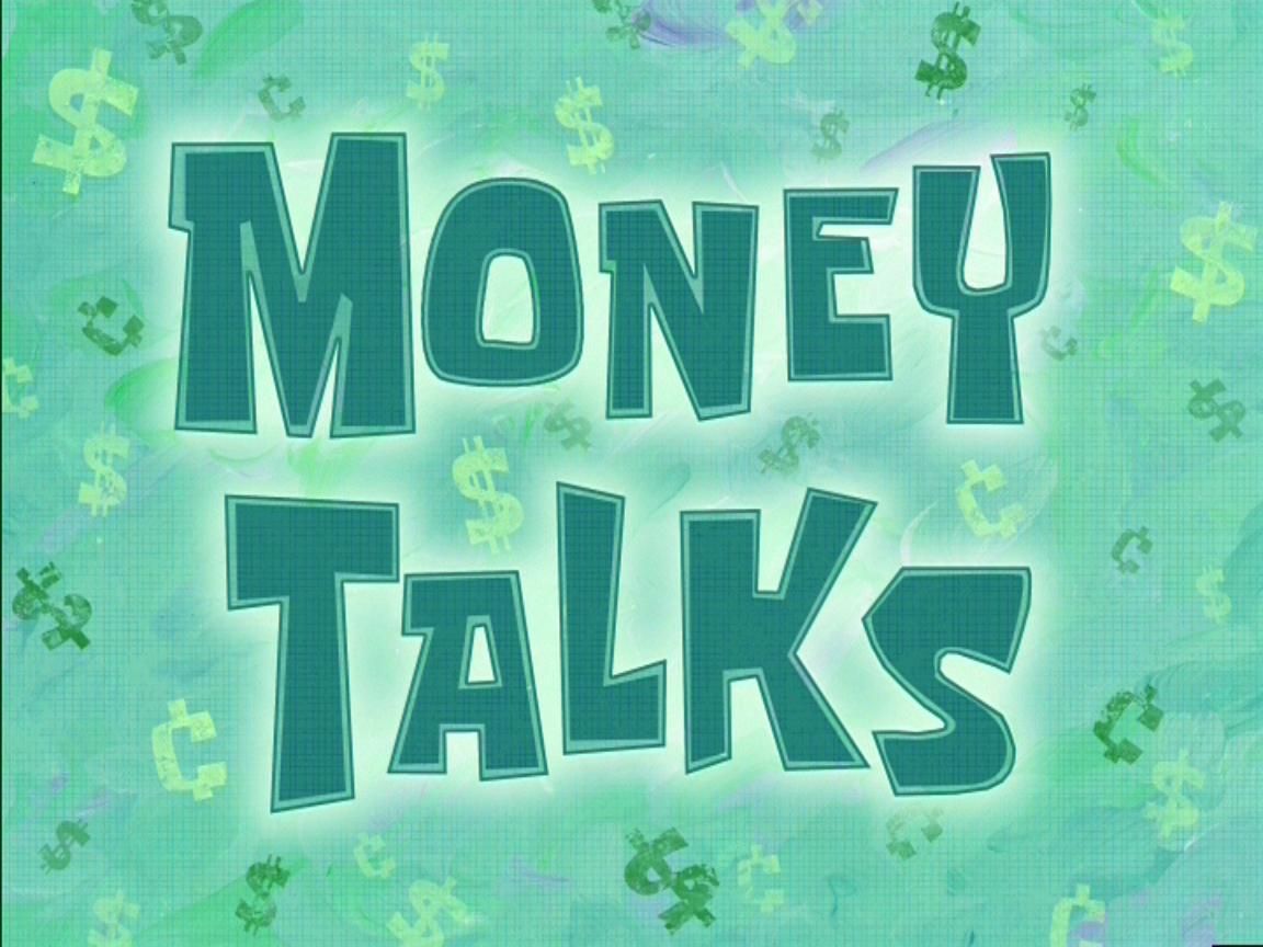 money talks | encyclopedia spongebobia | fandom poweredwikia