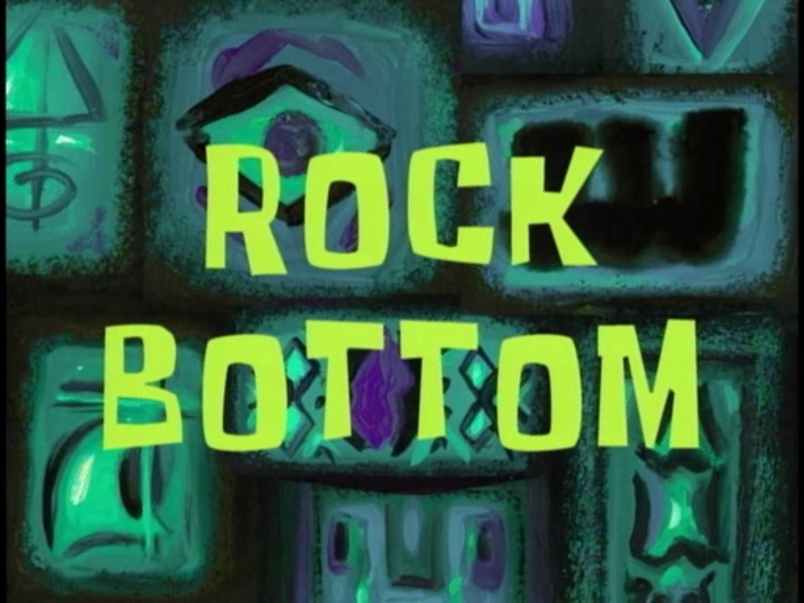 image rock bottom jpg encyclopedia spongebobia fandom
