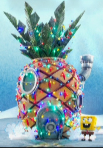 File:SpongeBob's pineapple house in It's a SpongeBob Christmas.png