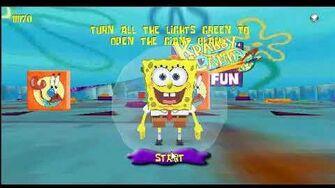 SpongeBob - 3D Pinball Panic (2004 Shockwave Game)