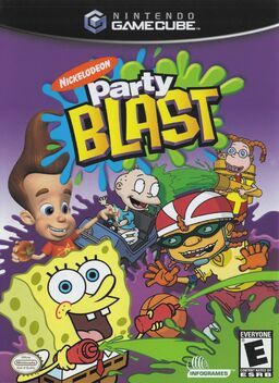Nickelodeon party blast gcn