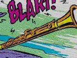 Golden clarinet