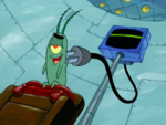 SpongeBob SquarePants Karen the Computer Power Cord
