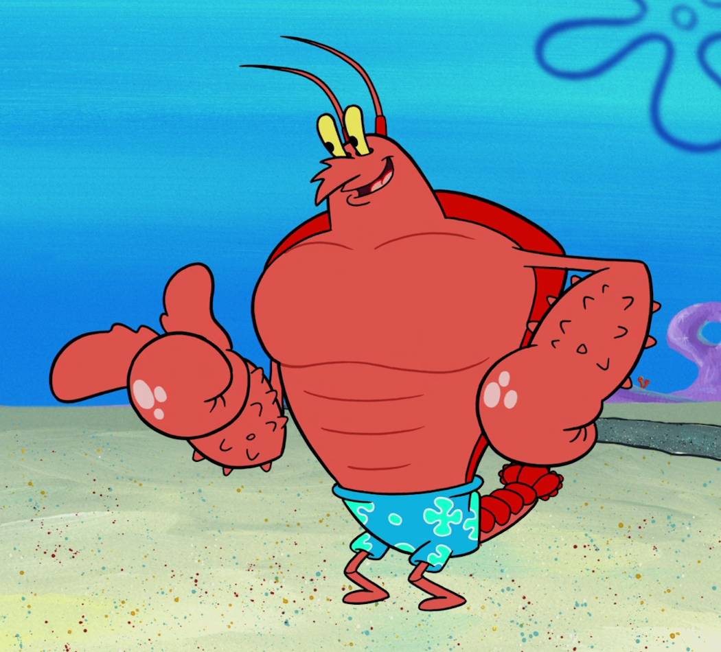 Larry the Lobster | Encyclopedia SpongeBobia | FANDOM powered by Wikia