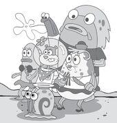 Sandy-Mrs-Puff-Gary-in-crowd