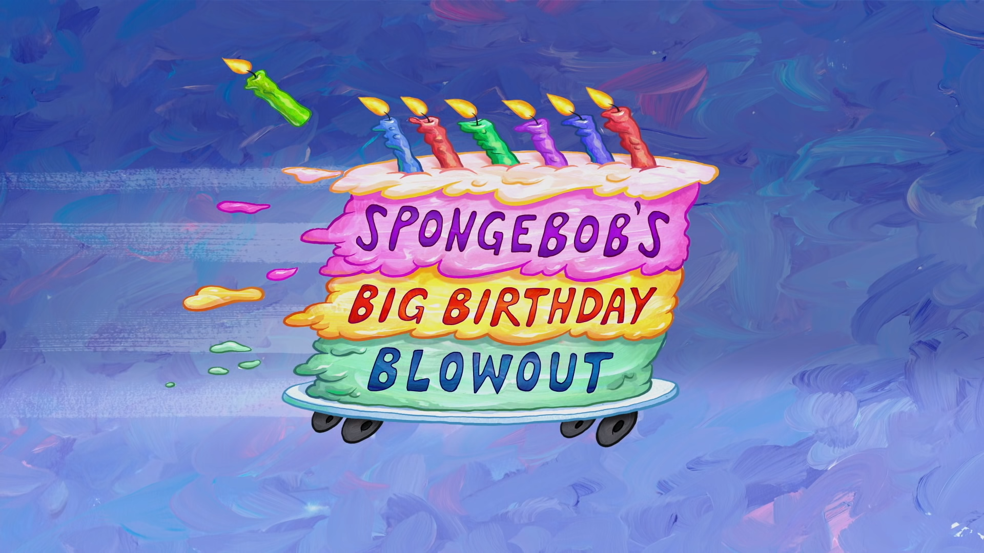 Image result for spongebob birthday blowout