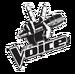 The Voice NBC logo blackwhite