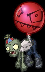 Zombie modern balloon