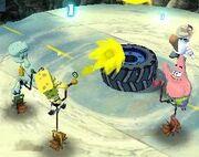 3d Spongebob, 3d Squidward, 3d Sandy, & 3d Patrick6