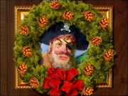 Painty the pirate christmas