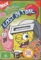 SpongeBob Lost in Time Australian DVD
