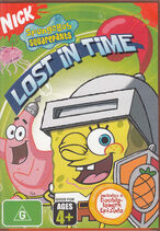 SpongeBob Lost in Time Australian DVD