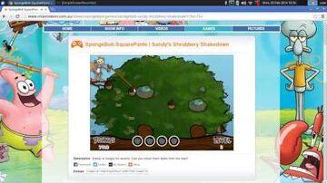SpongeBob SquarePants - Sandy's Shrubbery Shakedown