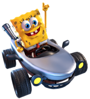 Nick Kart Racers Grand Prix SpongeBob Kar