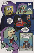 Squidward and the Golden Clarinet Page 9