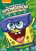 The Adventures of SpongeBob SquarePants UK re-release DVD