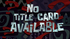 No title card available