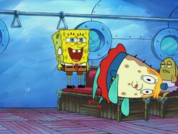 SpongeBob's eyelashes mistake in Nautical Novice