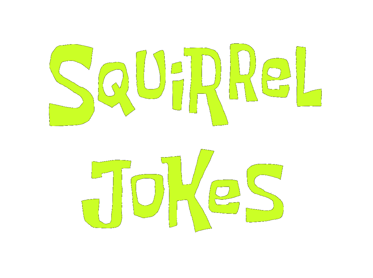 Squirrel Jokes text