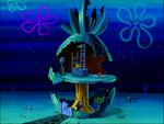 SpongeBob's pineapple house in Season 2-7