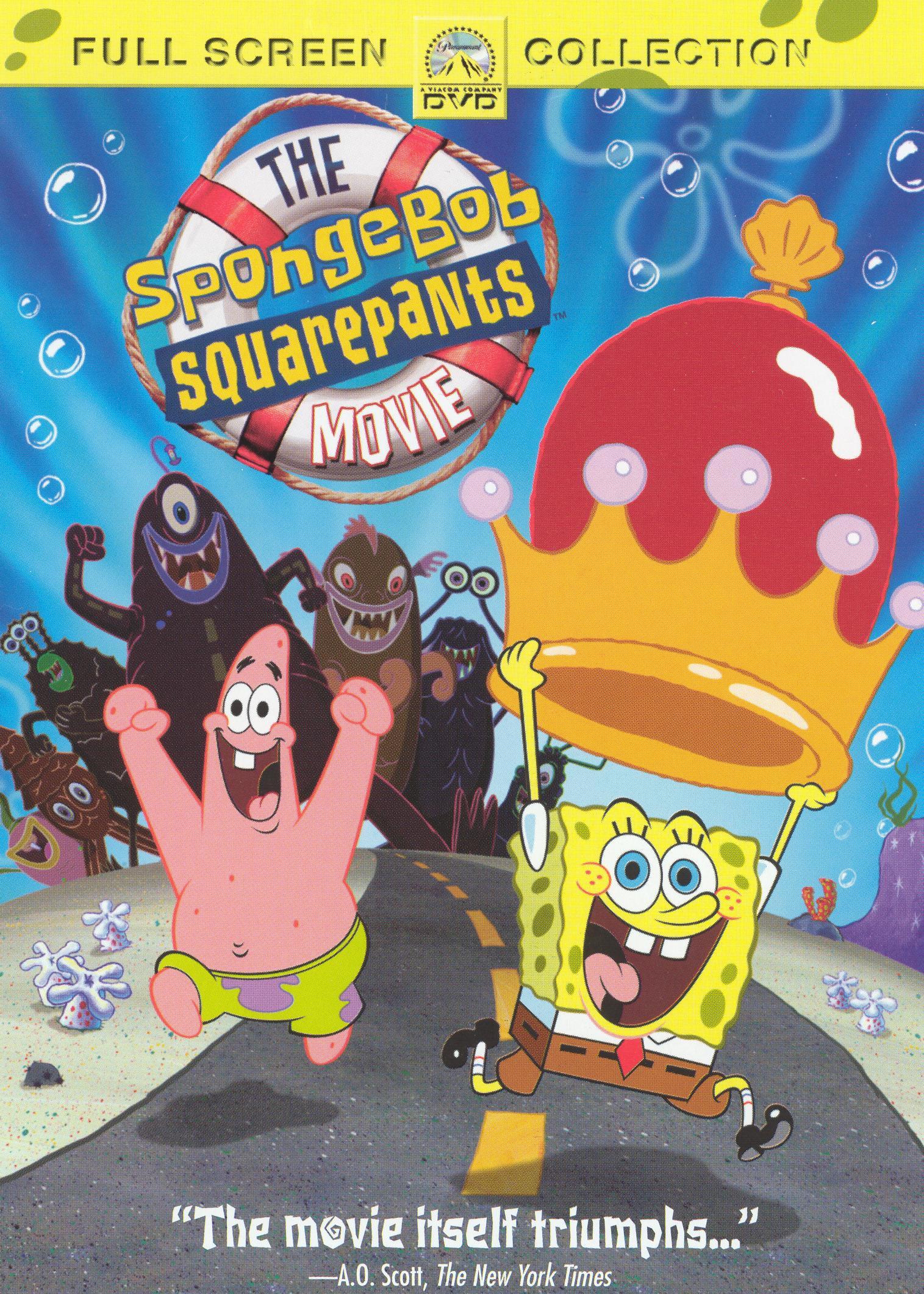 Image - SpongeBob Movie DVD Full Screen.jpg | Encyclopedia ...