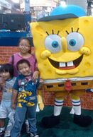 SpongeBob baseball hat costume