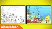 SpongeBob SquarePants 'Lost in Bikini Bottom' From Sketch to Screen Nick