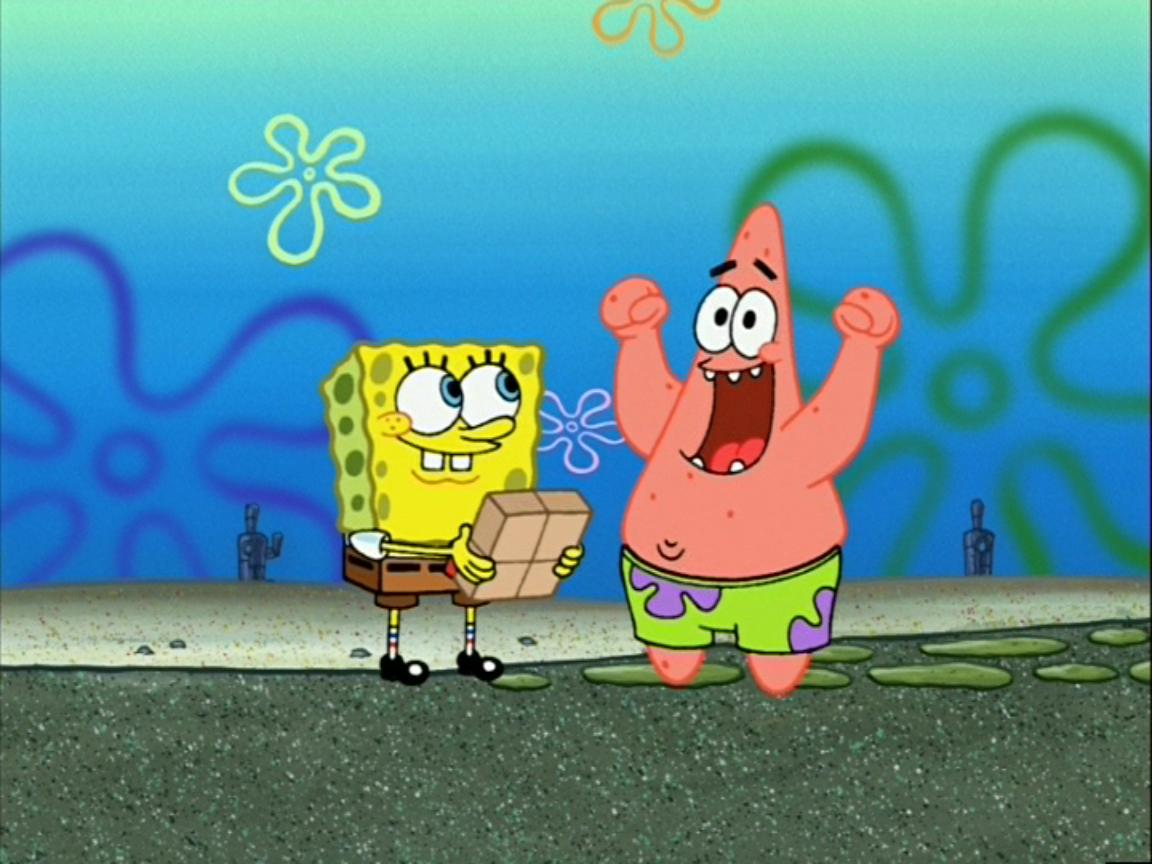 Old Man Patrick Encyclopedia SpongeBobia