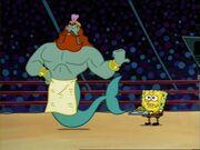 King Neptune & Spongebob2