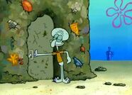 Squidward Trash House Surroundings 1