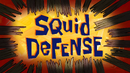 Squid Defense title card