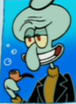 Squidward in a Headshot