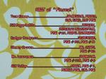 Fiasco! Credits