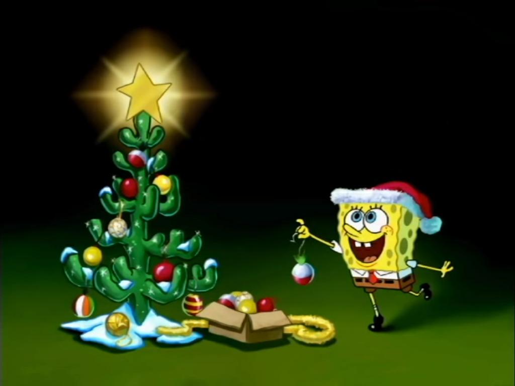 Spongebob Christmas.User Blog Auron Guardian Christmas Activity Encyclopedia