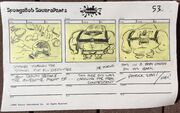 The Fry Cook Games storyboard