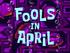 Fools in April title card