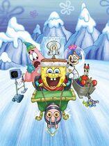 SpongeBob's Frozen Face-Off original cover design