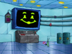 SpongeBob SquarePants Karen the Computer Face-3