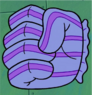 Chum Bucket glove