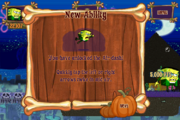 Halloween Horror Part 2 New Ability Air-dash